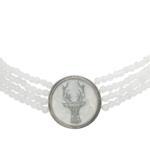 trachten-collier mit perlen