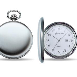 Taschenuhr aus Chrom