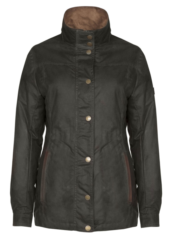 Mountrath_Waxed_Damenjacke_Olive_Dubarry